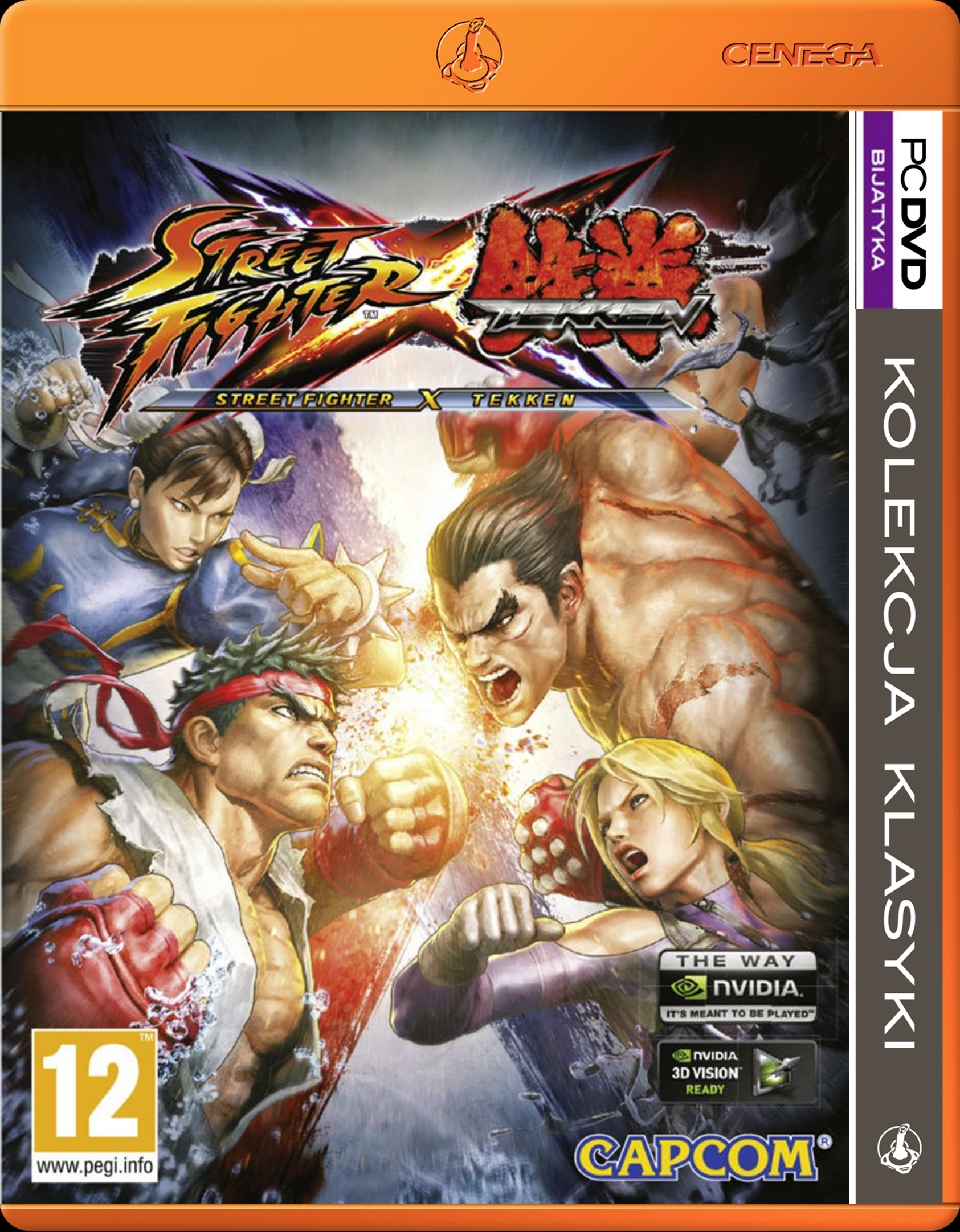 PKK Street Fighter X Tekken PC DVD - Wirtus.pl