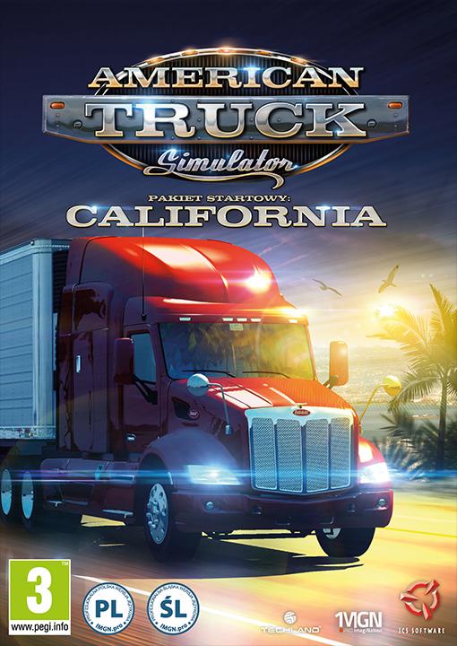 American Truck Simulator Edycja kolekcjonerska PC DVD - Wirtus.pl