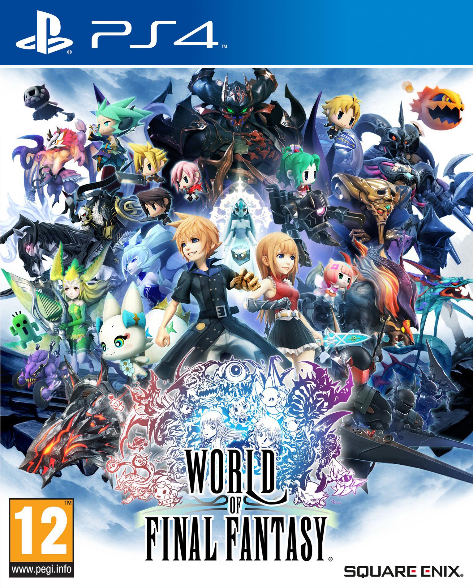 World of Final Fantasy PS4 DVD - Wirtus.pl